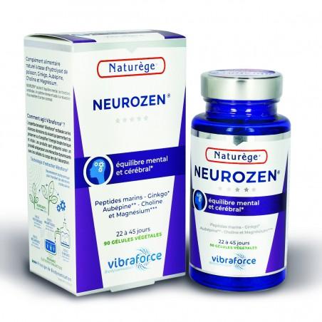 Neurozen Relax & Zen Bonne Humeur Naturège VIBRA - 90 gélules - Naturège Laboratoire