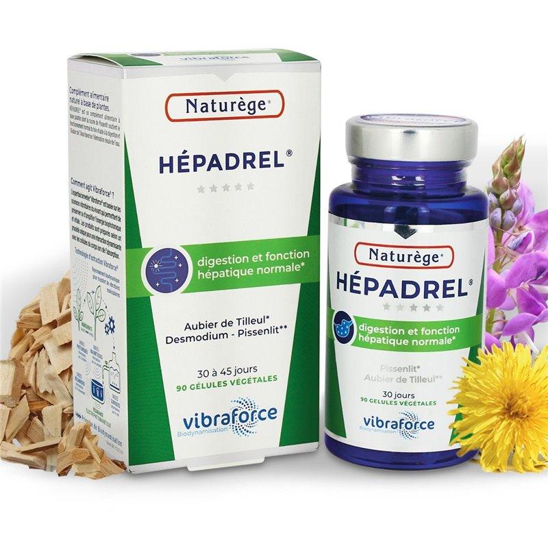 Hépadrel gélules - digestion et aide du foie et de la vésicule - 90 Gélules - Naturège Laboratoire
