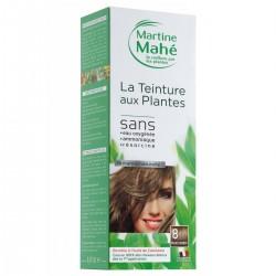 Martine Mahé-teinture N°8 250  ml -Coloration aux plantes