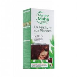 Coloration aux plantes Teinture n°7 Auburn - 125 ml  - Martine Mahé
