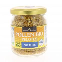 Pollen Bio Pelotes Vitalité - 130 Grammes - Trésor des Abeilles