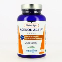 Acerol'actif  - Acérola - Vitamine C  - 150 Comprimés - Naturège
